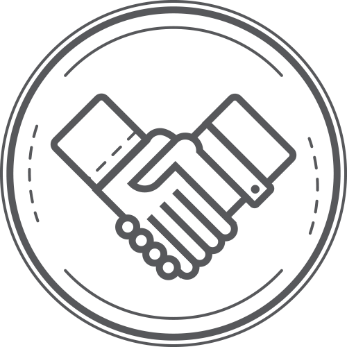 Planning Partnership handshake icon